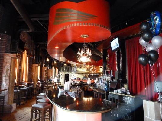 Upstairs bar, Off the Hookah