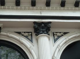 Iron embellishments downtown