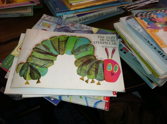 Very Hungry Caterpillar by Eric Carle - A classic!