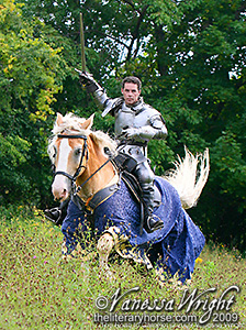 Literary Horse - The Road to Camelot