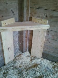 Stall stool model